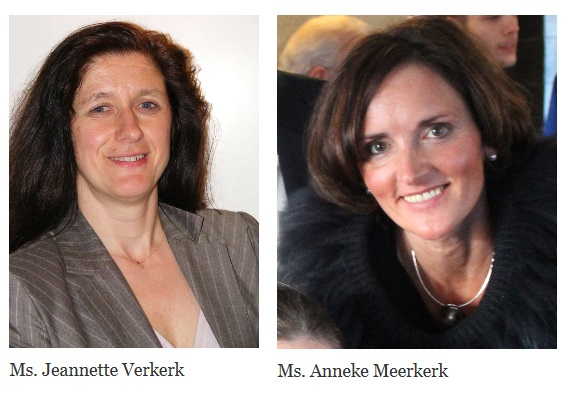 Jeannette and Anneke